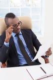 Biznesmen przy pracą. Zdjęcia Stock