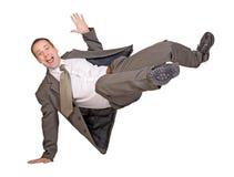biznesmen skacze Obraz Royalty Free