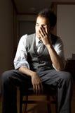 biznesmen stresujący się Fotografia Stock