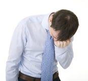 biznesmen stresujący się Zdjęcia Stock