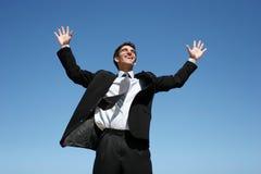 biznesmen sukces zdjęcie royalty free