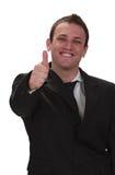biznesmen szczęśliwy Obraz Royalty Free