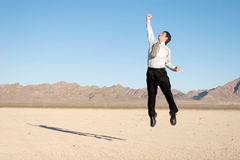 biznesmen szczęśliwy zdjęcie stock