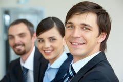 biznesmen szczęśliwy Fotografia Stock
