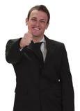 biznesmen szczęśliwy Obraz Stock