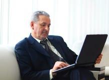 Biznesmen w biurze Obraz Stock