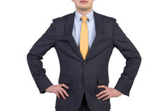 Biznesmen w kostiumu Zdjęcia Royalty Free
