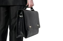 biznesmen walizka Zdjęcia Stock