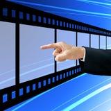 biznesmen wybiera film Zdjęcie Royalty Free