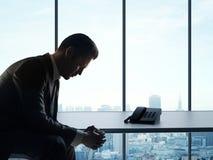 biznesmen zmęczony Obraz Stock