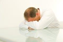 biznesmen zmęczony Zdjęcie Royalty Free