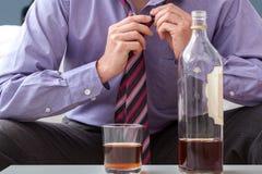 Biznesmena afterwork pić Zdjęcie Stock