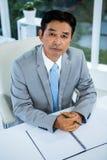 biznesmena azjatykci portret Fotografia Stock