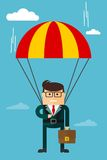 Biznesmena charakter Obraz Stock