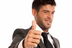 biznesmena gesta odosobneni symbolu potomstwa Zdjęcia Stock