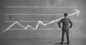 Biznesmena i firmy trend Zdjęcia Stock