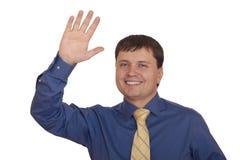 biznesmena ja target1788_0_ życzliwy zdjęcia stock