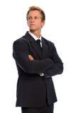 biznesmena kostium formalny przystojny Fotografia Royalty Free