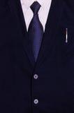 Biznesmena kostium z piórem w kieszeni Fotografia Royalty Free