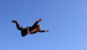 biznesmena latanie Obraz Stock