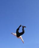 biznesmena latanie Fotografia Royalty Free