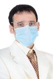 biznesmena medyczny maskowy Obraz Royalty Free
