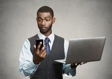 Biznesmena multitasking Obraz Stock