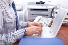 biznesmena pisać na maszynie Zdjęcie Stock