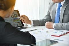Biznesmena spotkanie z bizneswomanem Fotografia Royalty Free
