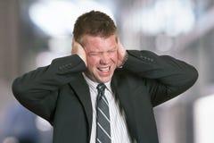 biznesmena stres Obrazy Stock