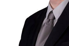biznesmena szczegółów szyi krawat Zdjęcie Royalty Free