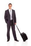 Biznesmena tramwaju torba Fotografia Stock