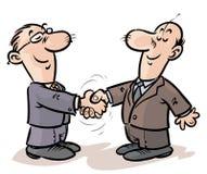 Biznesmena uścisk dłoni. Fotografia Stock
