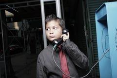 biznesmena wynagrodzenia telefonu potomstwa Fotografia Stock