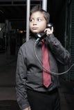 biznesmena wynagrodzenia telefonu potomstwa Obraz Royalty Free