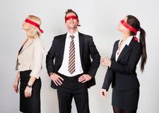 biznesmeni disoriented grupy Zdjęcie Royalty Free