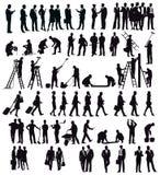 Biznesmeni i rzemieślnicy ilustracji