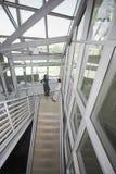 Biznesmeni Opowiada W Biurowej klatce schodowej Zdjęcie Royalty Free