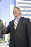 Biznesmeni Trząść ręki Fotografia Stock