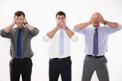 biznesmeni trzy Zdjęcie Stock