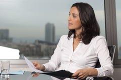 biznesowa łacińska kobieta Obraz Stock