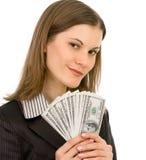 biznesowa życzliwa odosobniona biała kobieta Zdjęcie Royalty Free