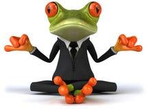 biznesowa żaba Zdjęcie Royalty Free
