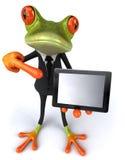 biznesowa żaba Fotografia Royalty Free