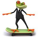 biznesowa żaba Fotografia Stock