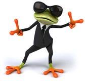 Biznesowa żaba Obrazy Royalty Free