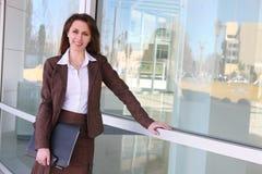 biznesowa ładna rosyjska kobieta Obraz Stock