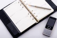 Biznesowa agenda Fotografia Stock