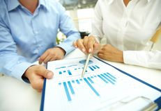 Biznesowa analiza Zdjęcie Stock