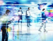 Biznesowa analiza na sieci Obrazy Stock